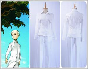 Anime The Promised Neverland Norman Cosplay Costume