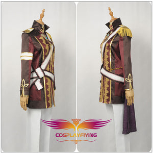 Anime Uta No Prince Sama Aijima Cecil Stage Cosplay Costume Custom Made for Adult Men Outfit Carnival Halloween
