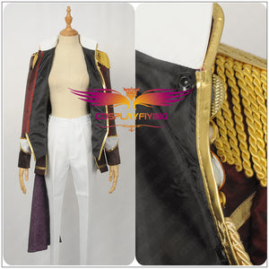 Anime Uta No Prince Sama Ichinose Tokiya Stage Cosplay Costume Custom Made for Adult Men Outfit Carnival Halloween