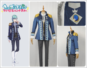 Anime Uta No Prince Sama Mikaze Ai Stage Cosplay Costume Custom Made for Adult Men Outfit Carnival Halloween