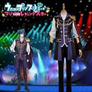 Anime Uta No Prince Sama Season 4 Ichinose Tokiya Stage Cosplay Costume for Carnival Halloween