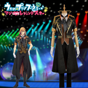 Anime Uta No Prince Sama Season 4 Jinguji Ren Stage Cosplay Costume for Carnival Halloween