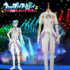Anime Uta No Prince Sama Season 4 MIKAZE AI Stage Cosplay Costume for Carnival Halloween