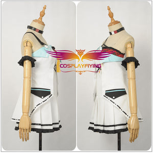 Virtual Idol A.I.Channel YouTube Morinaga Miu Cosplay Costume for Girl Women Custom Made Carnival Halloween