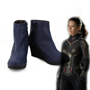 Ant-Man and the Wasp Janet van Dyne Cosplay Shoes Boots Custom Made for Adult Men and Women