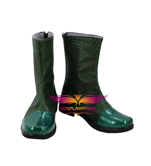 Aquaman Arthur Curry Cosplay Shoes Boots Custom Made for Adult Men and Women