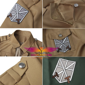 Attack on Titan Armin Arlert Shingeki no Kyojin Uniform Cosplay Costume for Halloween Carnival