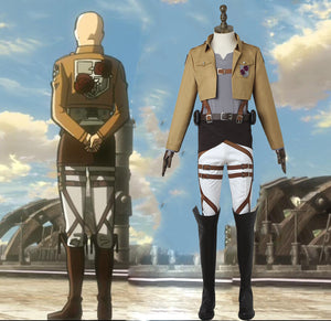 Attack on Titan Shingeki no Kyojin Dot Pixis Stationed Corps Commander Cosplay Costume for Halloween Carnival