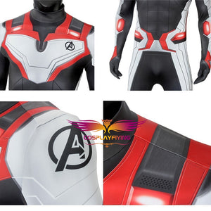 Avengers 4: Endgame Realm Team Suit Male Version Jumpsuit for Carnival Halloween