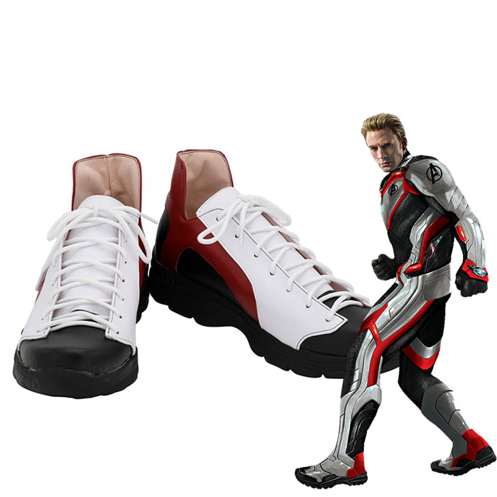 Avengers: Endgame Quantum Warfare Cosplay Shoes Boots Custom Made for Adult Men and Women