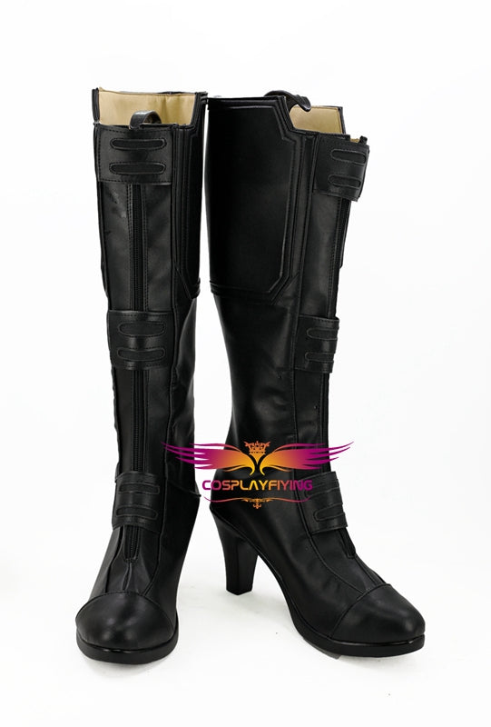 Avengers: Infinity War Black Widow Natasha Romanoff Cosplay Shoes Boots Custom Made for Adult Men and Women