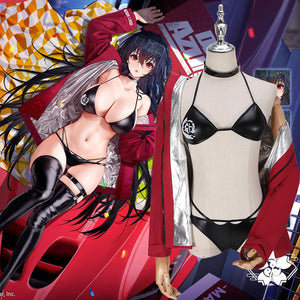Azur Lane Taiho Racing Suit Sexy Bikini Cosplay Costume Halloween Carnival