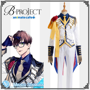 B-project MOONS Sekimura Mikado Stage Uniform Cosplay Costume