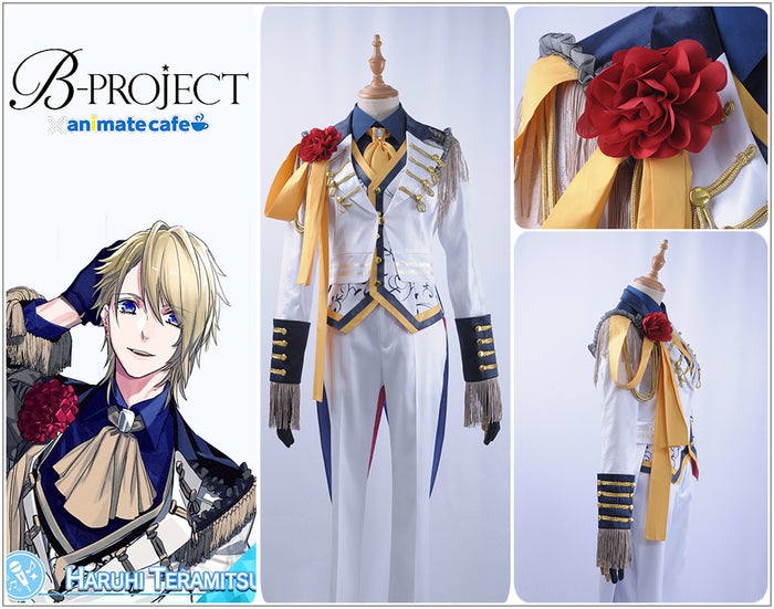 B-project MOONS Teramitsu Haruhi Cosplay Costume Custom Made Full Set Outfit