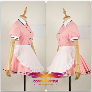 Blend S Burendo Esu Sakuranomiya Maika Cos Women Skirt Lady Apron Maid Servant Cosplay Costume