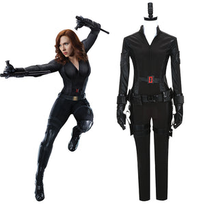 Captain America 3 : Civil War Avengers Black Widow Cosplay Costume Natasha Romanoff Costume