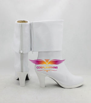 Captain Marvel Spectrum Monica Rambeau Cosplay Shoes Boots Custom Made for Adult Men and Women