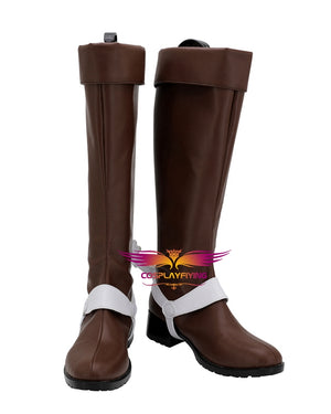 Comics Anime JoJo's Bizarre Adventure Diego Brando Cosplay Shoes Boots Custom Made for Adult Men and Women Halloween Carnival