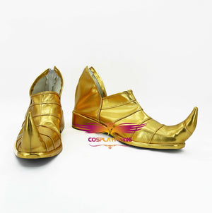 Comics Anime JoJo's Bizarre Adventure Stardust Crusaders DIO Cosplay Shoes Boots Custom Made for Adult Men and Women Halloween Carnival