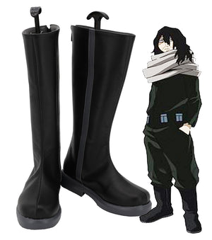 Comics My Hero Academia Eraser Head Cosplay Shoes Boots Custom Made for Adult Men and Women Halloween Carnival