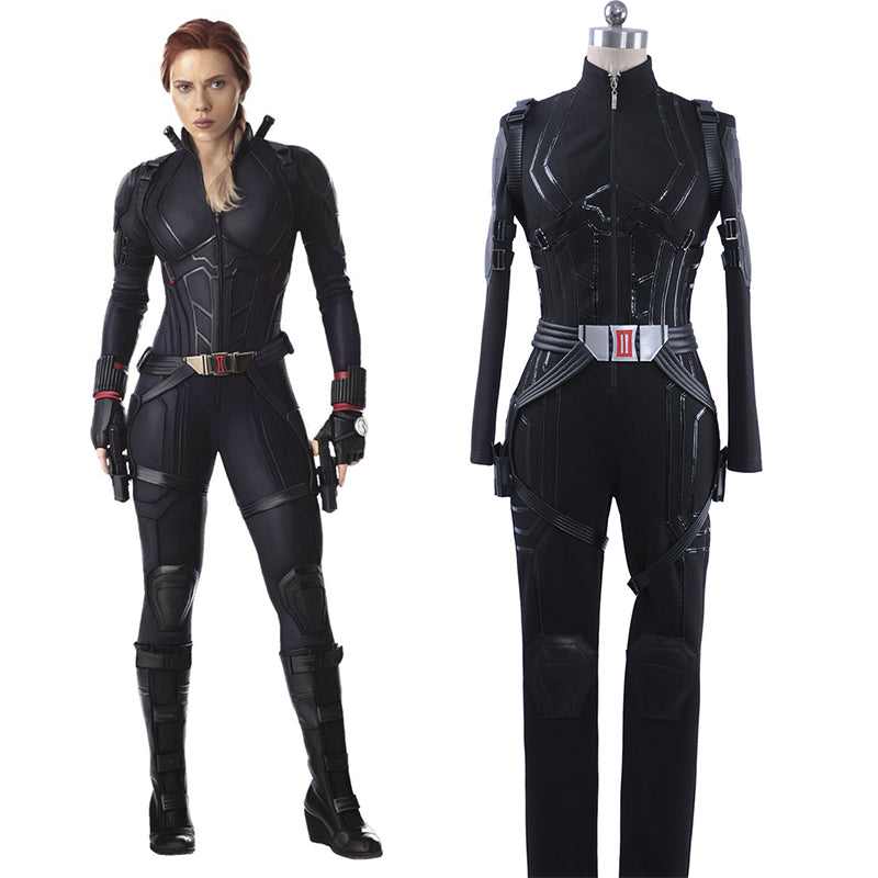 Marvel Avengers 4 Endgame Black Widow Cosplay Costume Natasha Romanoff Outfit