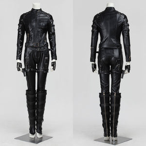 DC Comics Arrow Black Cancry Laurel Sara Lance Version B Cosplay Costume for Halloween Carnival