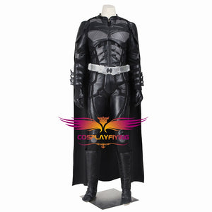 DC Comics Batman 3: The Dark Knight Rises Bruce Wayne Cosplay Costume for Halloween Carnival