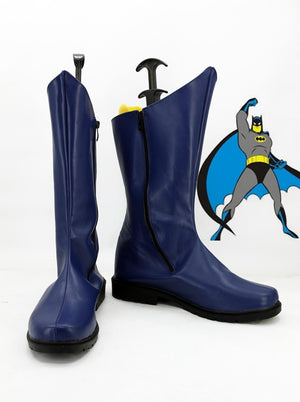 DC Comics Batman Bruce Wayne Cosplay Shoes Boots Custom Made for Adult Men and Women