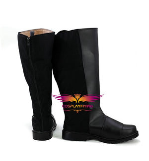 DC Comics Batman Bruce Wayne Cosplay Shoes Boots Custom Made for Adult Men and Women Halloween Carnival