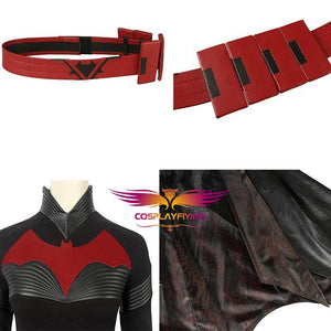 DC Comics TV Series Batwoman Kathy Kane Cosplay Costume Custom Made for Adult Women Carnival Halloween Version B