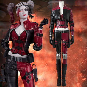 DC Comics Injustice 2 Harley Quinn Cosplay Costume Version B for Halloween Carnival