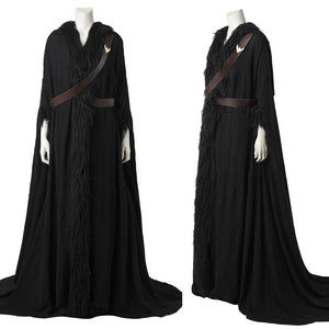 DC Comics JLA Wonder Woman Diana Black Cloak Cosplay Costume for Halloween Carnival