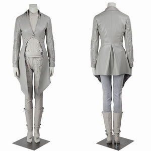 DC Comics Legends of Tomorrow White Canary Sara Lance Cosplay Costume for Halloween Carnival