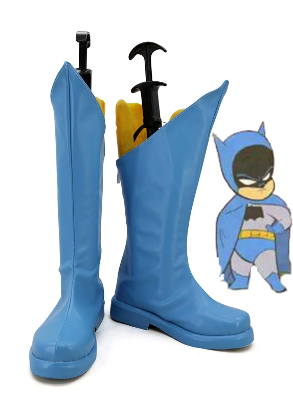DC Comics Little League Batman Cosplay Shoes Boots Custom Made for Adult Men and Women