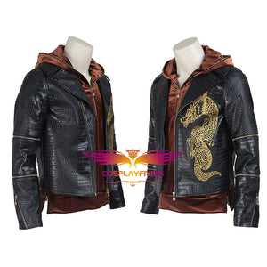 DC Comics Suicide Squad Killer Croc Waylon Jones Jacket Hoddie Cosplay Costume for Halloween Carnival