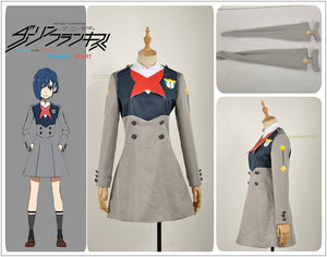 Darling in the FranXX CODE Killer ICHIGO CODE:015 Uniform Outfit Cosplay Costume