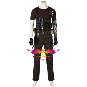 Marvel Comics Deadpool 2 Cable X-Men Adult Men Cosplay Costume Full Set for Halloween Carnival