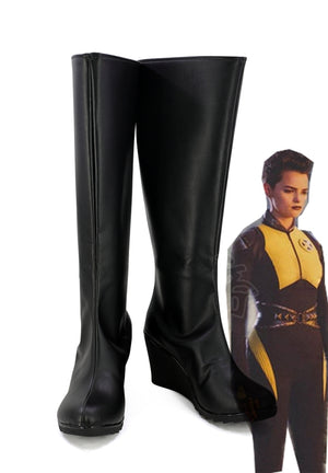 Deadpool Negasonic Teenage Warhead Cosplay Shoes Boots Custom Made for Adult Men and Women