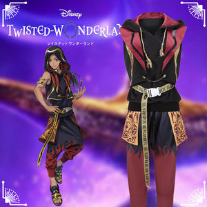 Disney Twisted-Wonderland Aladdin Scarabta Jamil Viper Fancy Cosplay Costume Outfit