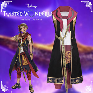 Disney Twisted-Wonderland Aladdin Scarabta Kalim Al-Asim Fancy Cosplay Costume Outfit