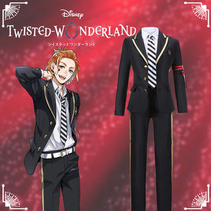 Disney Twisted-Wonderland Alice in Wonderland Cater Diamond Cosplay Costume Halloween Carnival