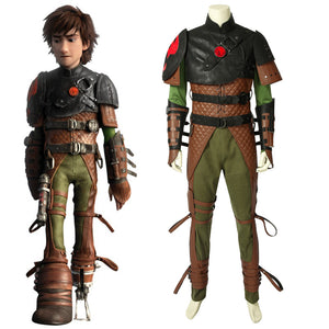 Disney Anime Movie How to Train Your Dragon 2 Hiccup Cosplay Costume for Carnival Halloween