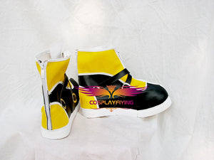 Game Kingdom Hearts 2 Sora Cosplay Shoes Boots Custom Made for Adult Men and Women Halloween Carnival