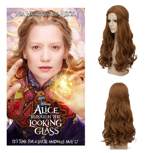 Disney Movie Alice in Wonderland 2 Alice Kingsleigh Cosplay Wig Cosplay for Adult Women Halloween Carnival