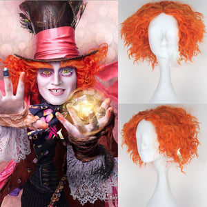 Disney Movie Alice in Wonderland Mad Hatter Cosplay Wig Cosplay for Adult Women Halloween Carnival