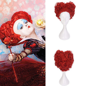 Disney Movie Alice in Wonderland The Red Queen Cosplay Wig for Halloween Carnival