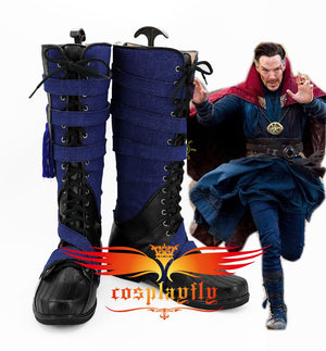 Doctor Strange Stephen Steve Cosplay Shoes Vincent Dr.Strange Superhero Battle Cosplay Shoes