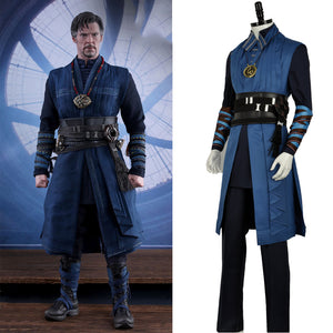 Doctor Strange Steve Superhero Battle Cosplay Costume  Avengers Men Costume without Cloak