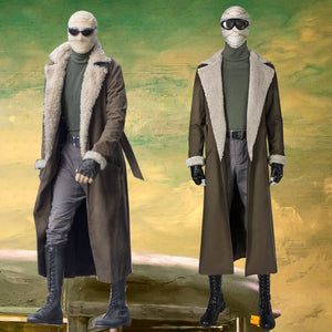 Doom Patrol Season 1 Negative Man Larry Trainor Cosplay Costume for Halloween Carnival