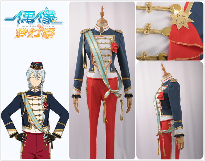 Ensemble Stars ES SW Hibiki Wataru Stage Cosplay Costume Outfit Adult